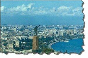 Старый Баку, имеется в виду пост советский